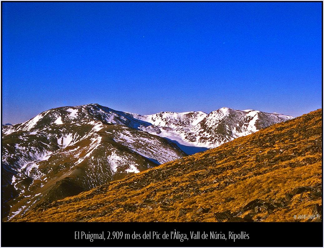 Fotografia del 1970, escanejada de diapositiva,  - Pirineus  - Jordi Lluís Pi, Una mirada fotogràfica
