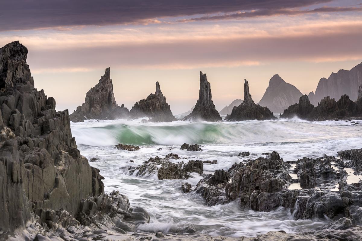 Las agujas de Gueirua. Asturias - Roberto Iván Cano - Portfolio Natural, Fotografía de Naturaleza de Autor
