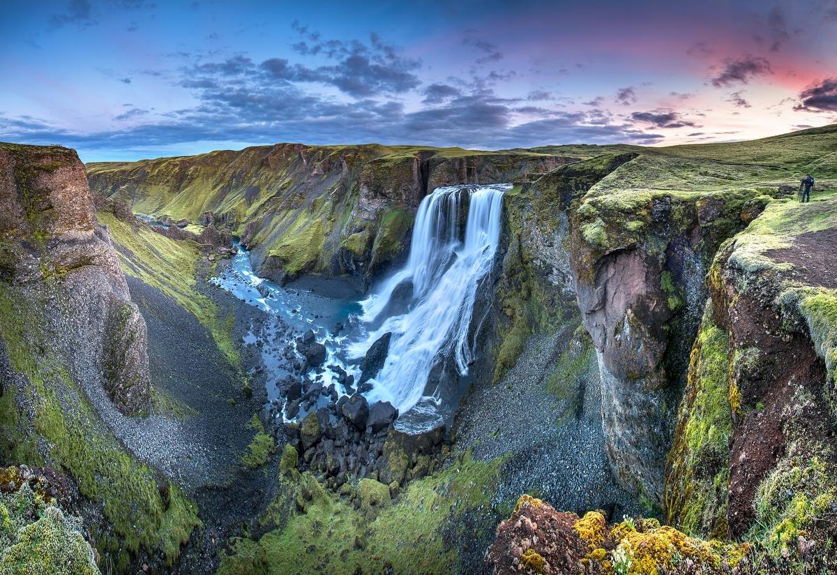 Fagrifoss. Islandia - Roberto Iván Cano - Portfolio Natural, Fotografía de Naturaleza de Autor