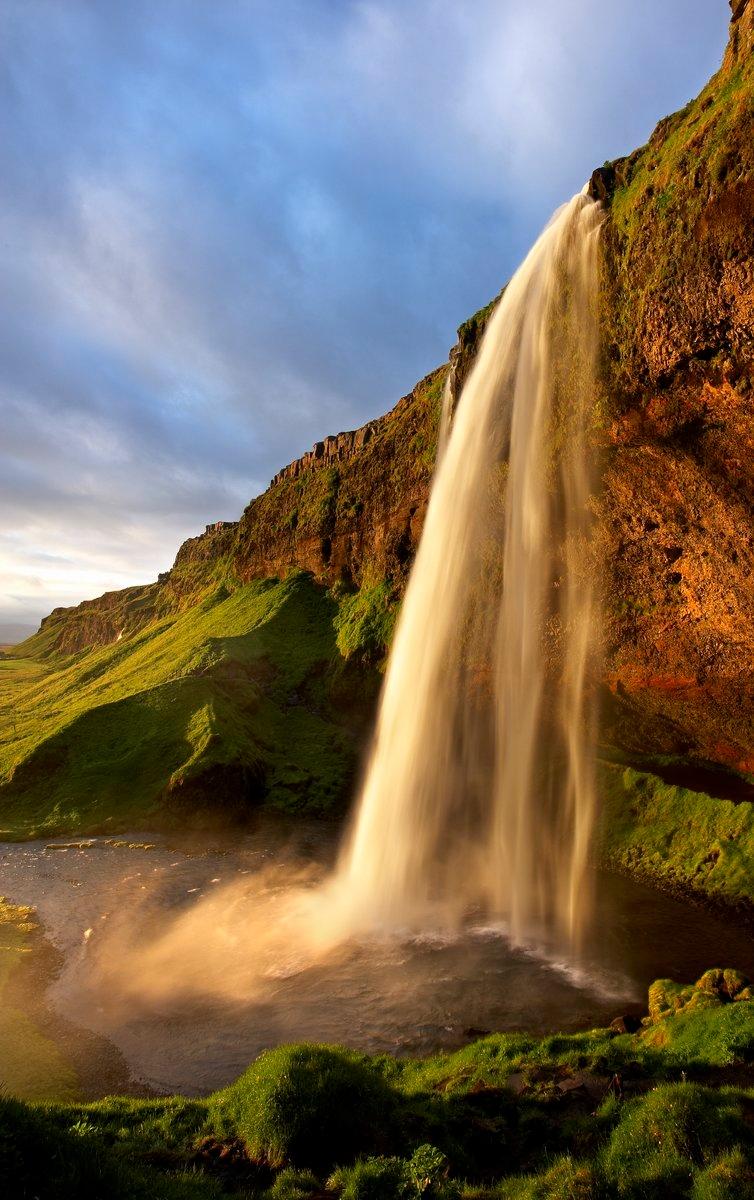 Seljalandsfoss. Islandia - Roberto Iván Cano - Portfolio Natural, Fotografía de Naturaleza de Autor