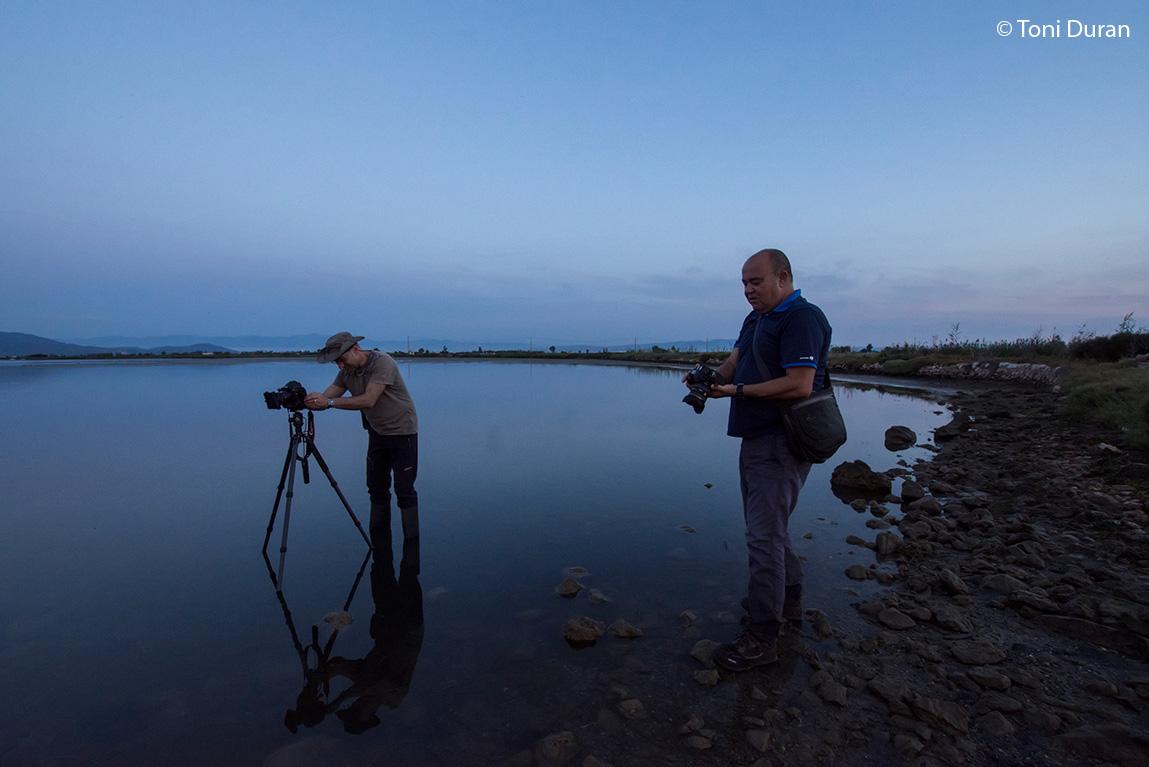 Con Manel Pons en el Delta del Ebro (Tarragona). España 2018 - Momentos - Raimon Santacatalina | Momentos