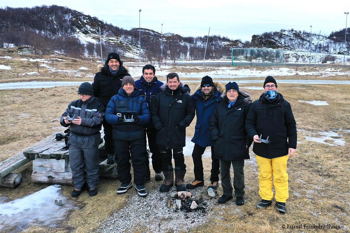 Con Victor Tabernero en Sommaroy (Tromso). Noruega 2020 - Momentos - Raimon Santacatalina | Moments