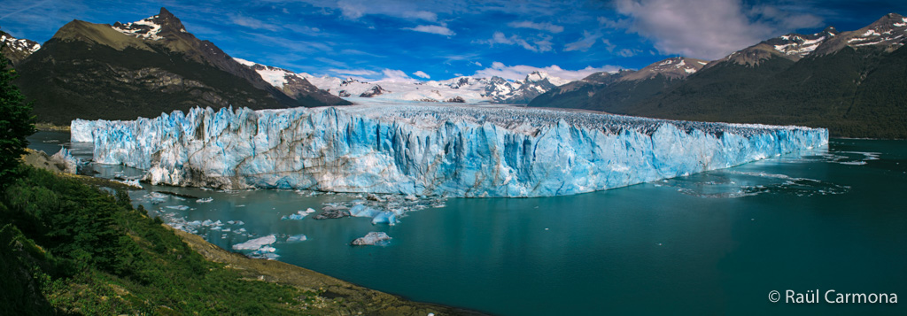 Glaciar Perito Moreno_Panoràmica - Panoràmiques - Raül Carmona - Fotografia, Fotografia d'estudi, esdeveniments i Natura