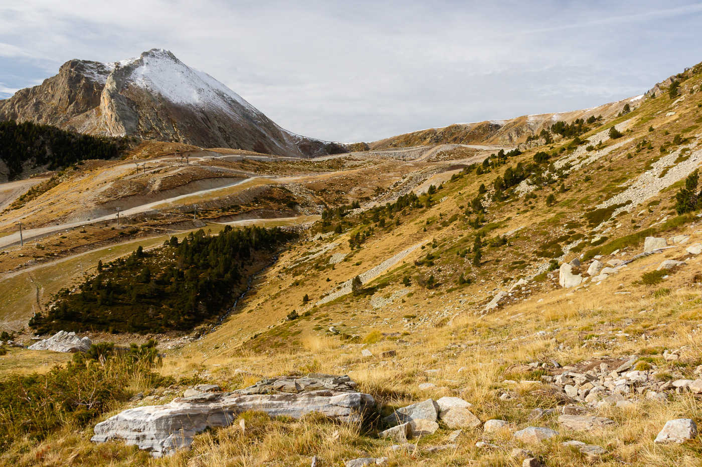 Coll de la Marrana i cims dels Gra de Fajol - Fotografies de paisatges - Raül Carmona - Fotografia, Fotografia d'estudi, esdeveniments i Natura