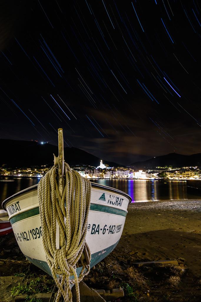 Barca estrellada - Fotografies de paisatges - Raül Carmona - Fotografia, Fotografia d'estudi, esdeveniments i Natura