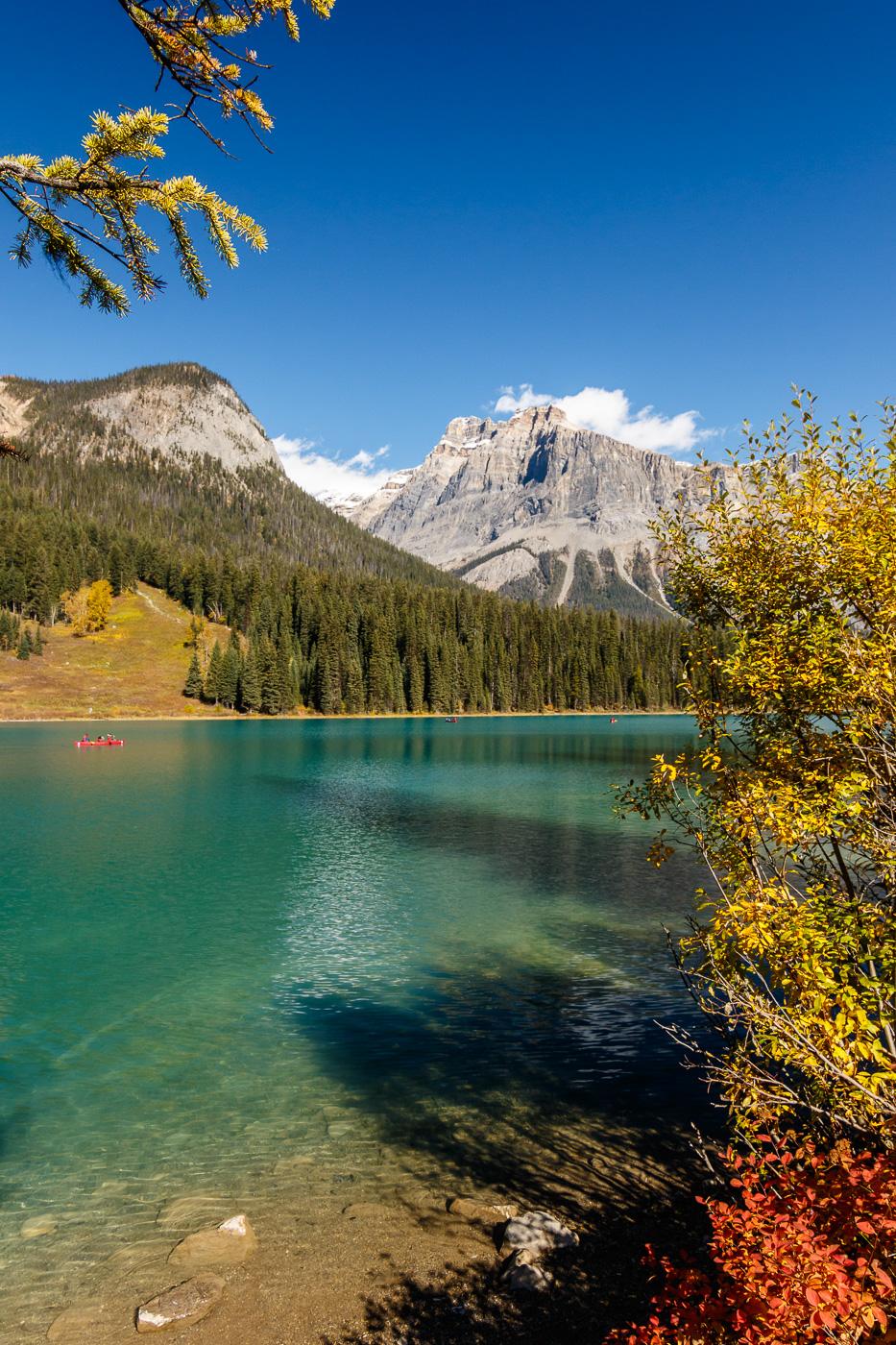 Emerald Lake colors view - Paisatges de Nord-Amèrica - Raül Carmona - Fotografia, Fotografia d'estudi, esdeveniments i Natura