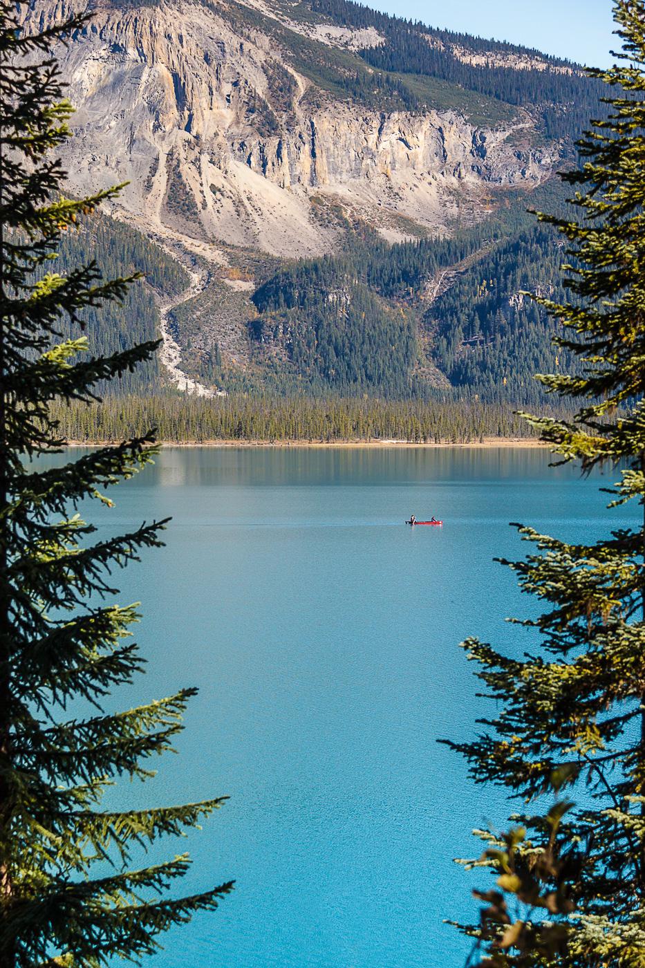 Emerald Lake among trees - Paisatges de Nord-Amèrica - Raül Carmona - Fotografia, Fotografia d'estudi, esdeveniments i Natura