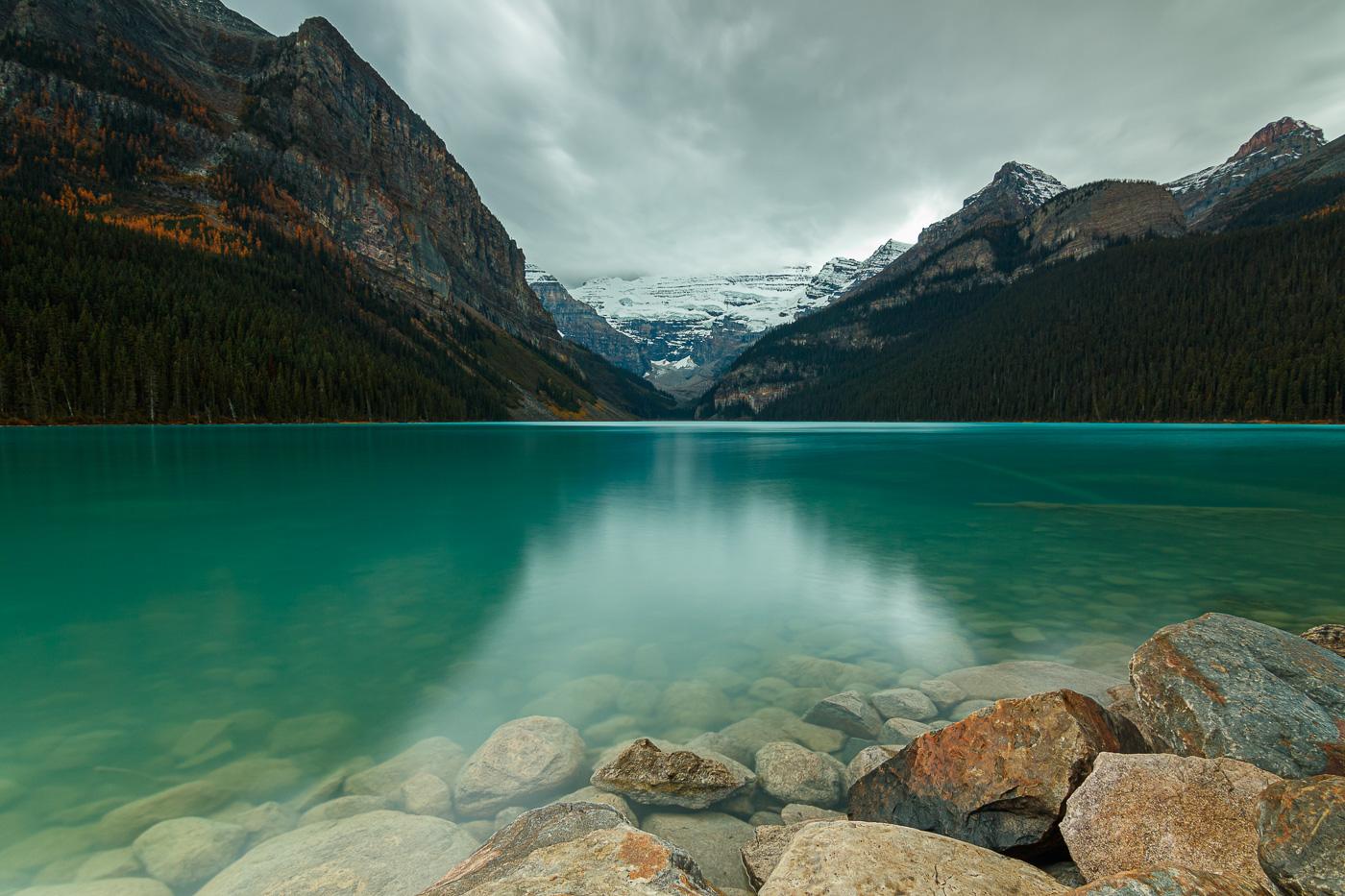 Lake Louise with ND filter - Paisatges de Nord-Amèrica - Raül Carmona - Fotografia, Fotografia d'estudi, esdeveniments i Natura