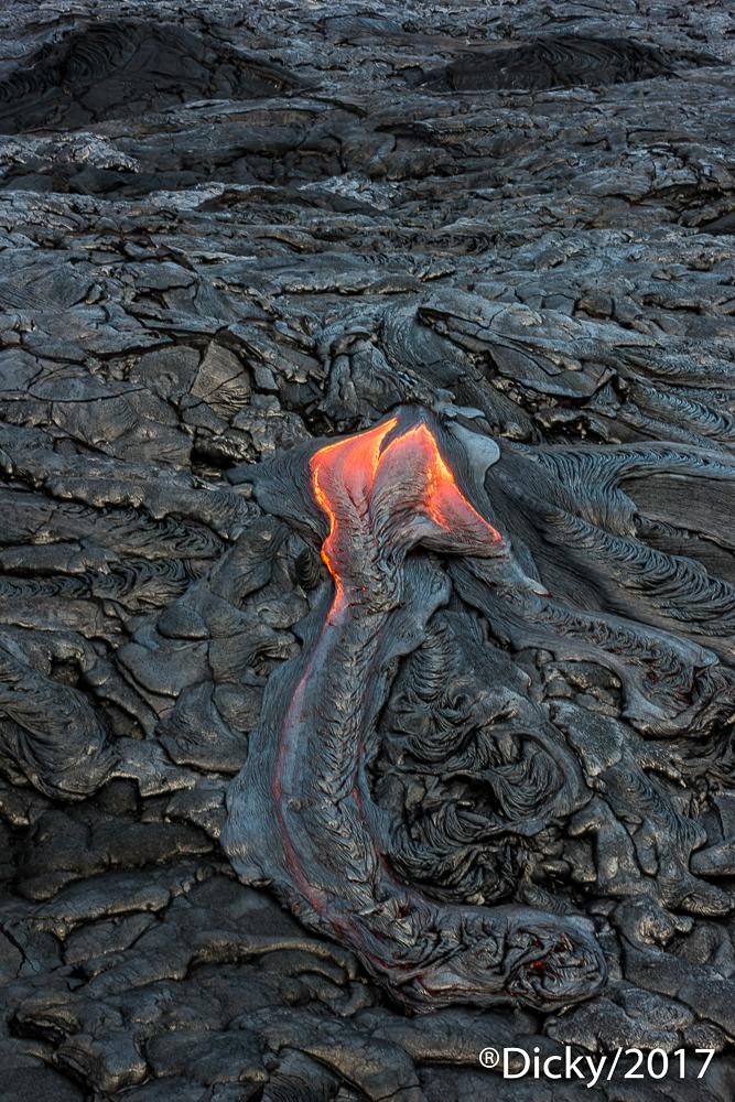 Lava, Parque Nacional de Volcanes - Hawaii - Ricardo F. Simán, Fotografía