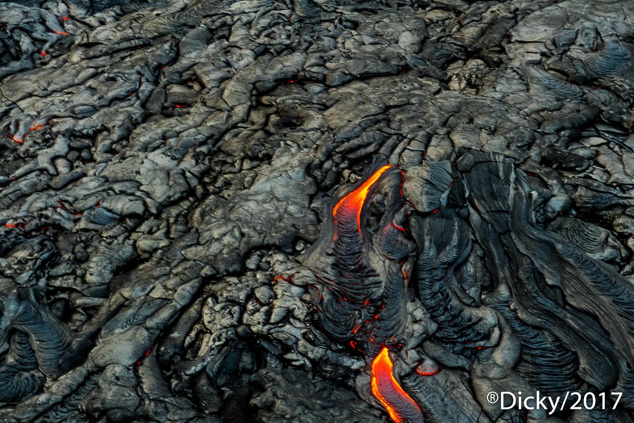 Lava,Parque Nacional de Volcanes - Hawaii - Ricardo F. Simán, Fotografía