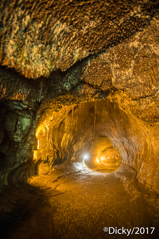 Cueva de Lava, Parque Nacional de Volcanes - Hawaii - Ricardo F. Simán, Fotografía