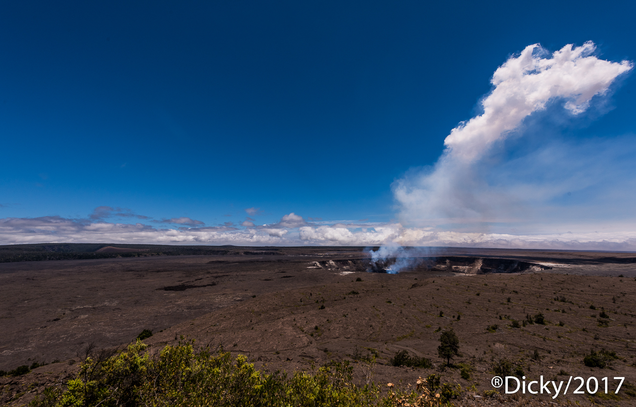 Crater Volcan Kilauea - Hawaii - Ricardo F. Simán, Fotografía