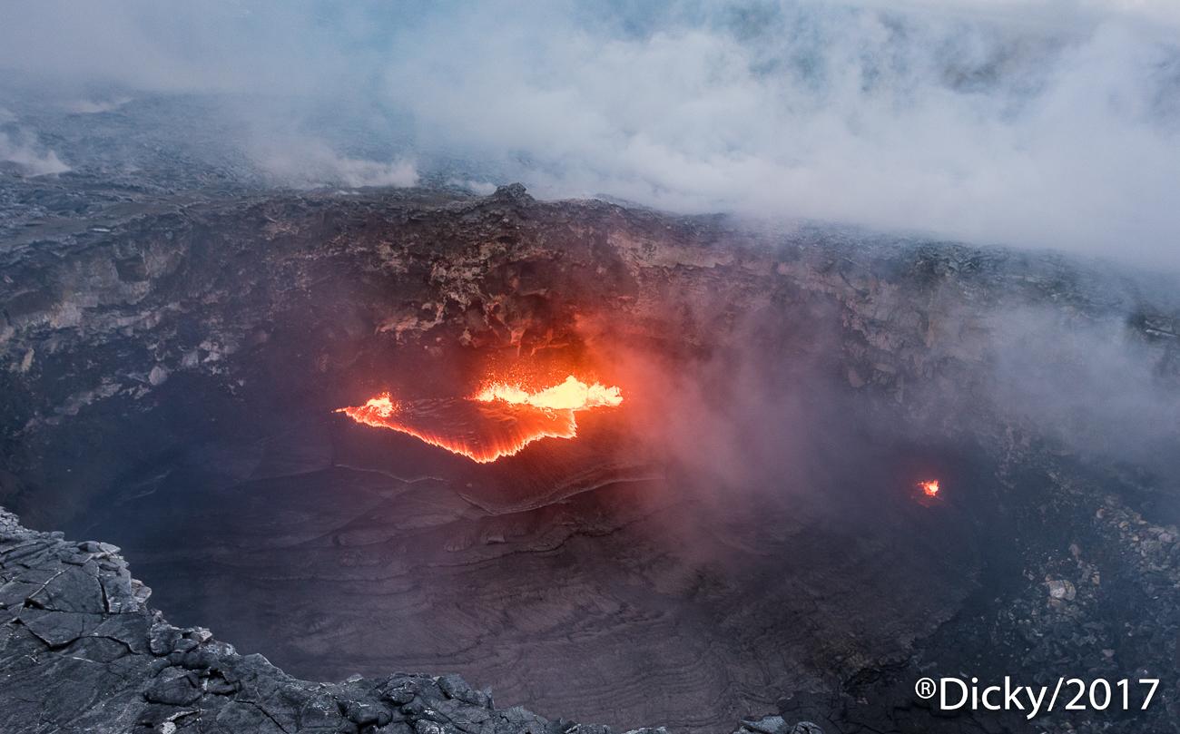Crater, Volcan Kilauea - Hawaii - Ricardo F. Simán, Fotografía