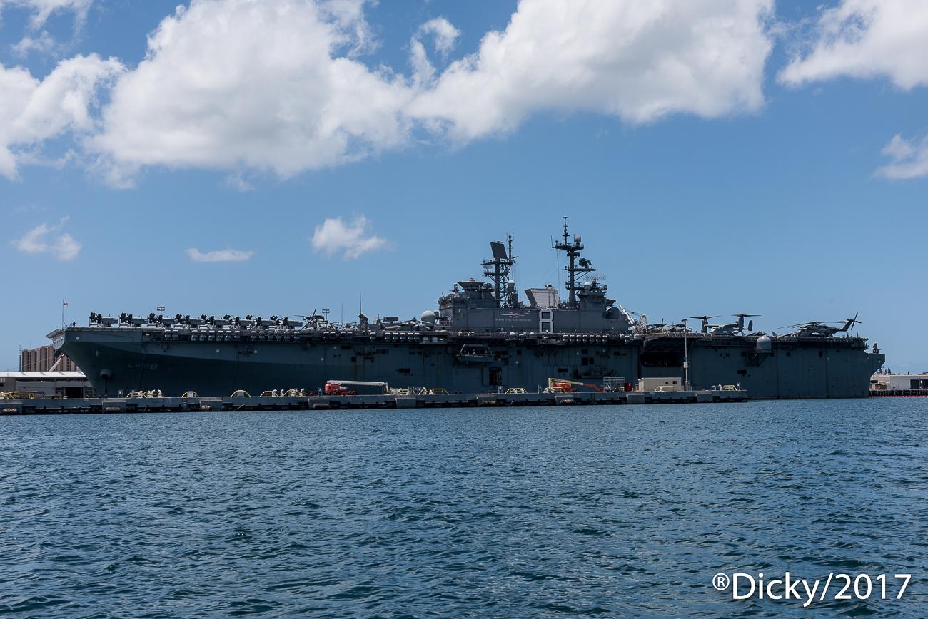 Portaaviones, Pear Harbor - Hawaii - Ricardo F. Simán, Fotografía