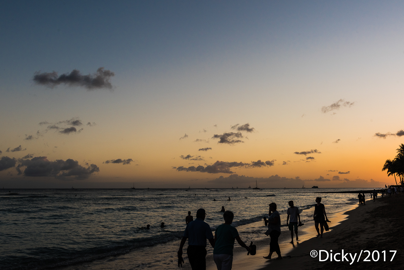 Waikiki beach - Hawaii - Ricardo F. Simán, Fotografía