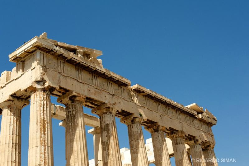 El Partenón, Atenas, Grecia.  - Grecia - Ricardo Simán . Grecia