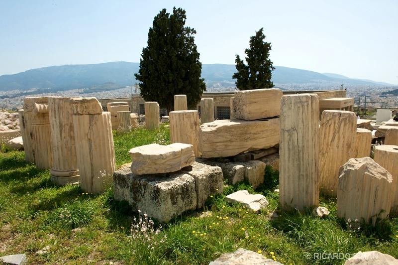 Ruinas de la Antigua Ciudad Delphi - Grecia - Ricardo Simán . Grecia