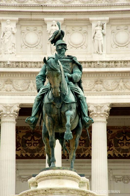 Monument Vittorio Emanuele II, Roma Italia - Ciudad del Vaticano - Ricardo Simán . Ciudad del Vaticano