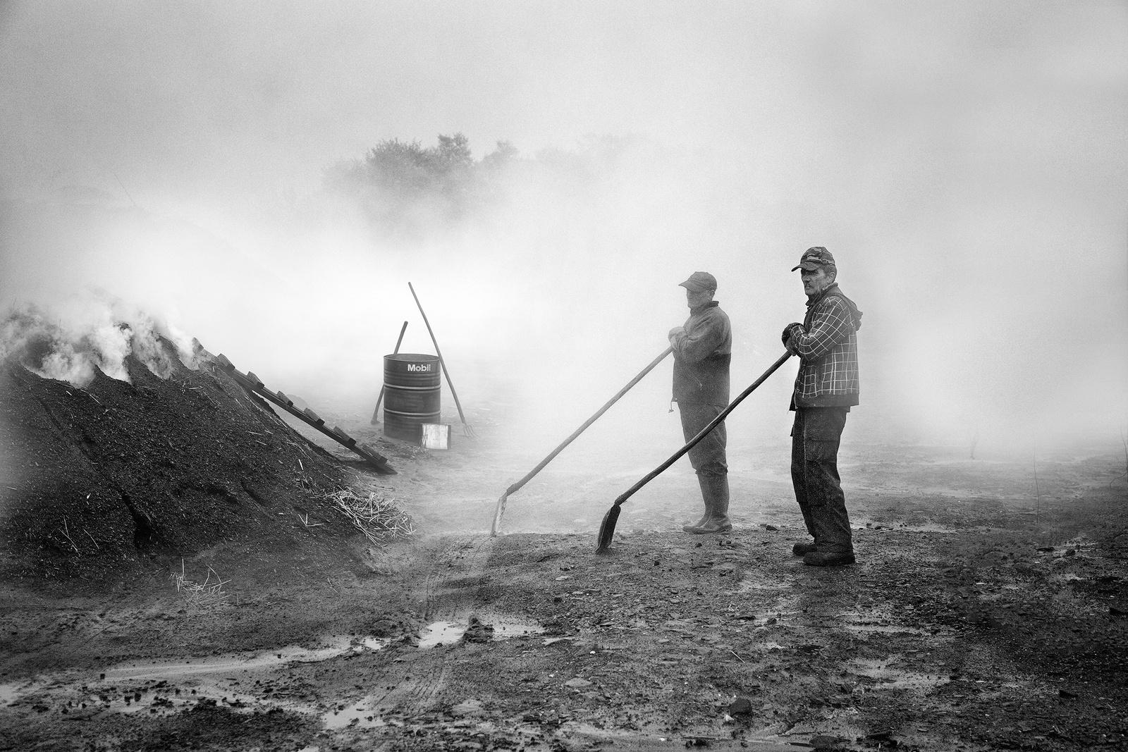 Carboneros - José Beut. Fotografía de Reportaje. Rumanía