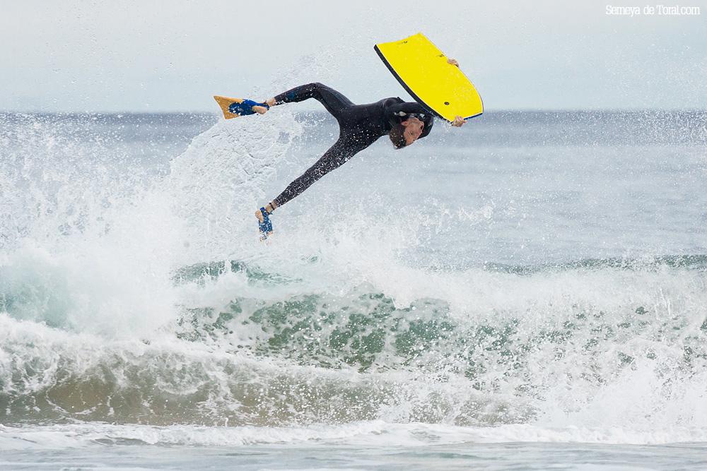 Oscar. - Surf de arrastre (towout) - Semeya  de Toral