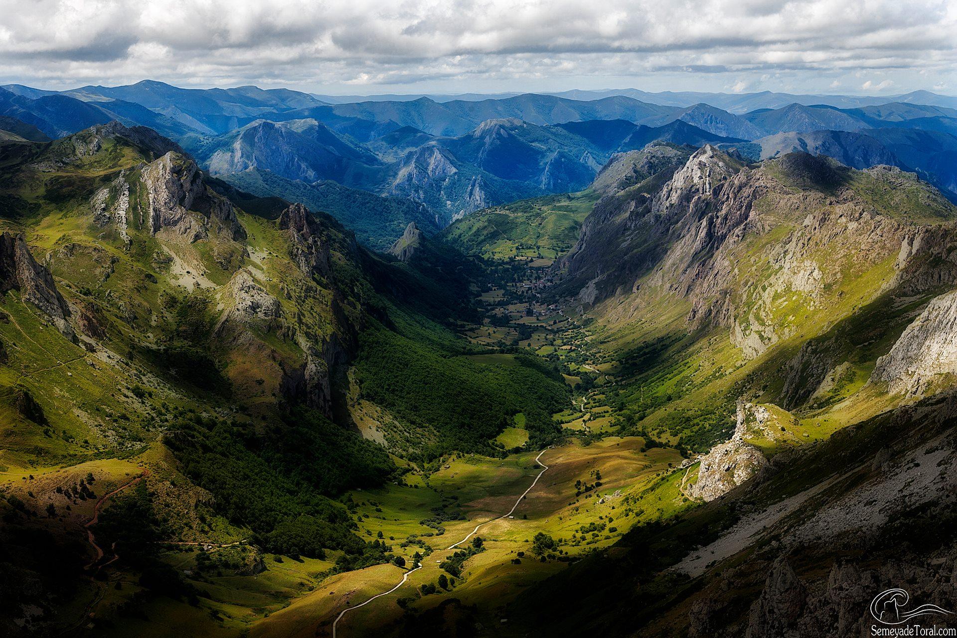 El valle del Valle. - MONTAÑA - Semeya  de Toral