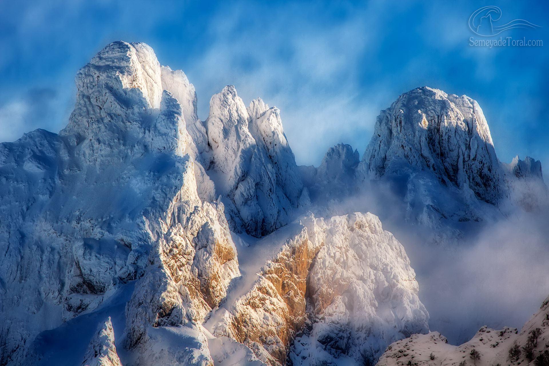 Invierno en Picos. - MONTAÑA - Semeya  de Toral