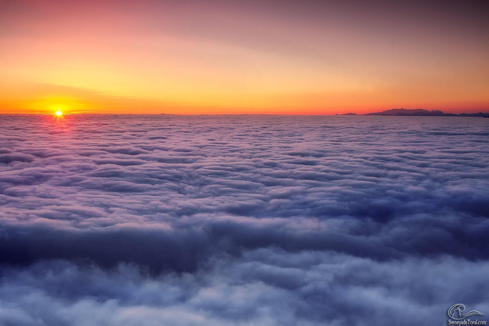 Esponjoso amanecer. - MONTAÑA - Semeya  de Toral