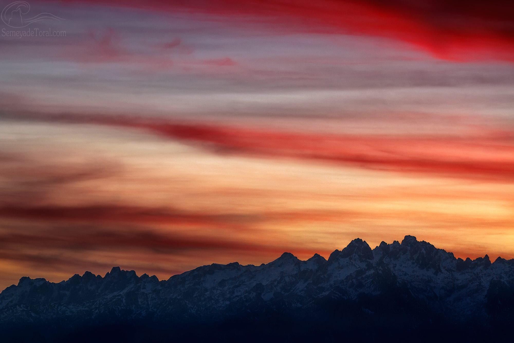 Cuando los Picos de Europa de visten de color. - MONTAÑA - Semeya  de Toral