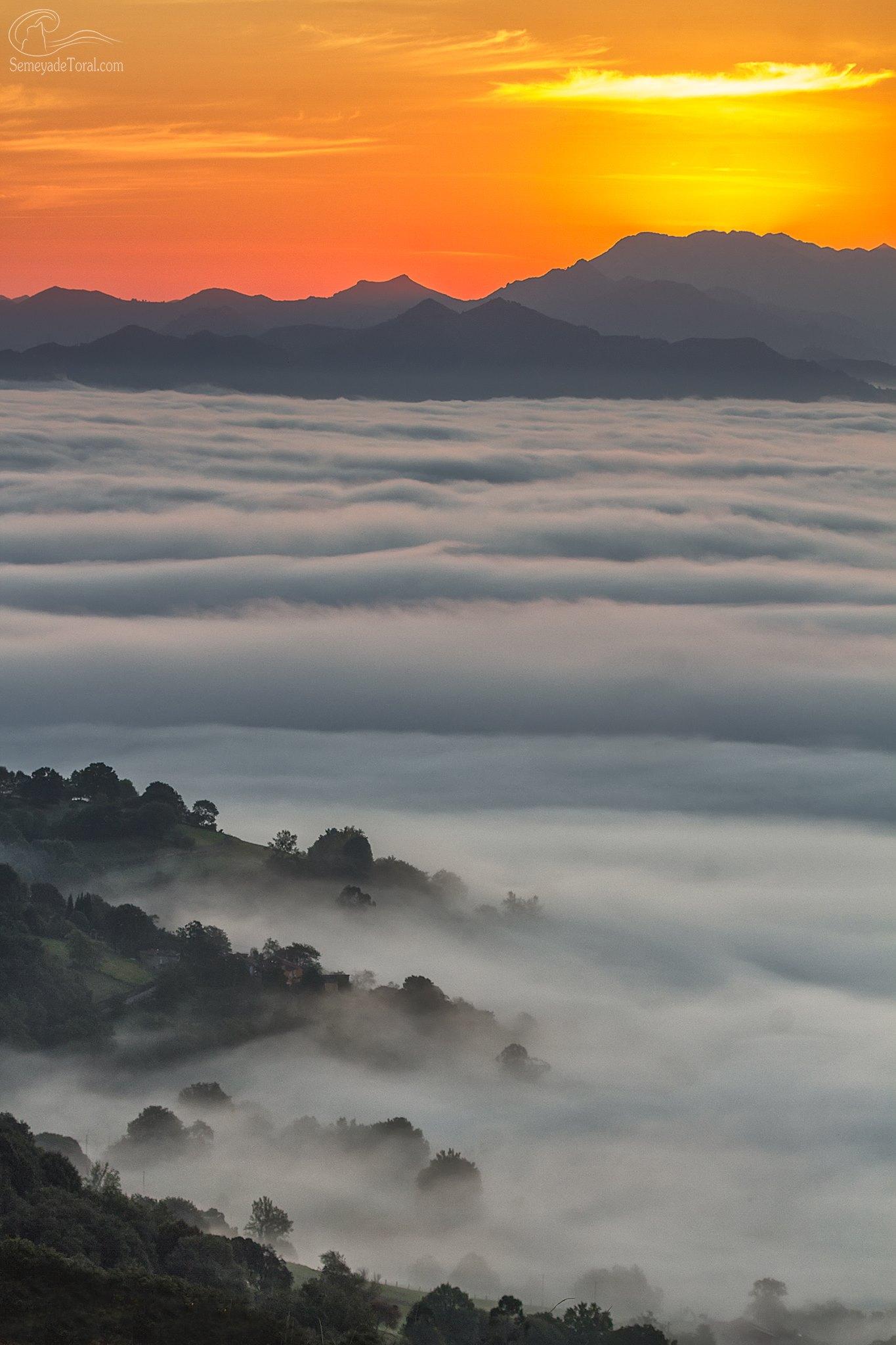 Líneas, valles, nieblas, sol.. vida. - MONTAÑA - Semeya  de Toral