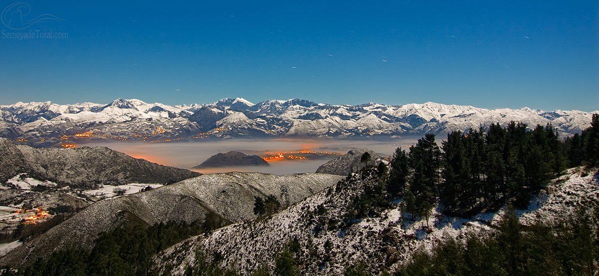 Invierno desde el Fitu - PANORÁMICAS - Semeya  de Toral