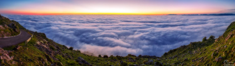 Mar de nubes - PANORÁMICAS - Semeya  de Toral