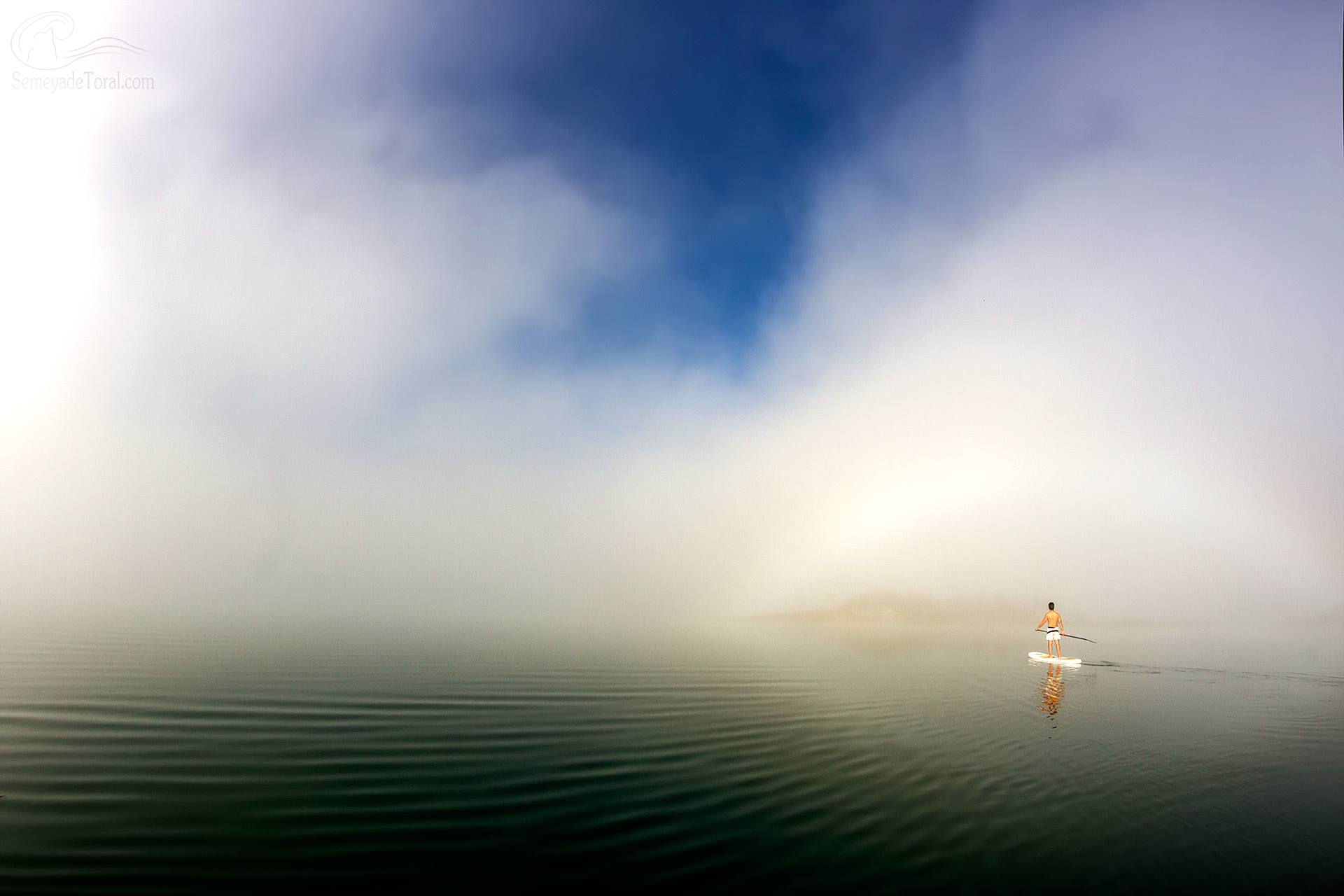 A solas con uno mismo. - STAND UP PADDLE SURF - Semeya  de Toral