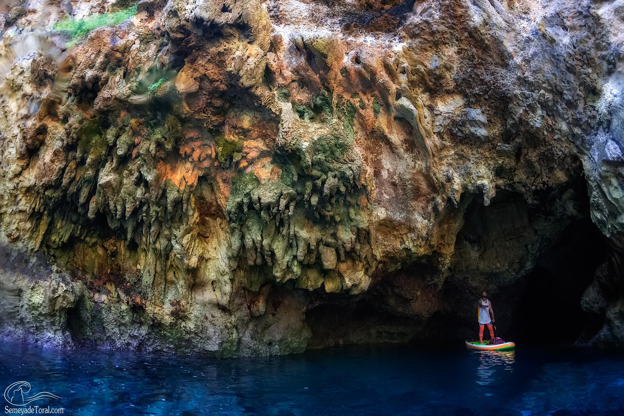 Colores kársticos  - STAND UP PADDLE SURF - Semeya  de Toral