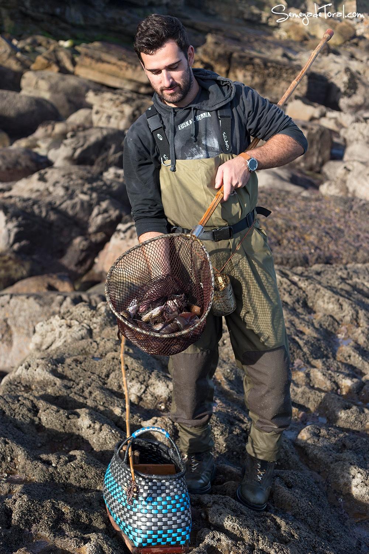 Pero el premio merece la pena. - Pesca tradicional de Barbaes - Semeya  de Toral
