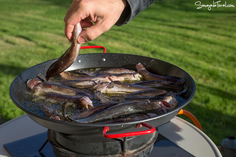 ¡Buen provecho! - Pesca tradicional de Barbaes - Semeya  de Toral