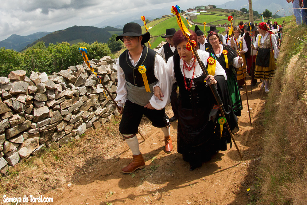 Vaqueiros de honor - Vaqueirada - Semeya  de Toral