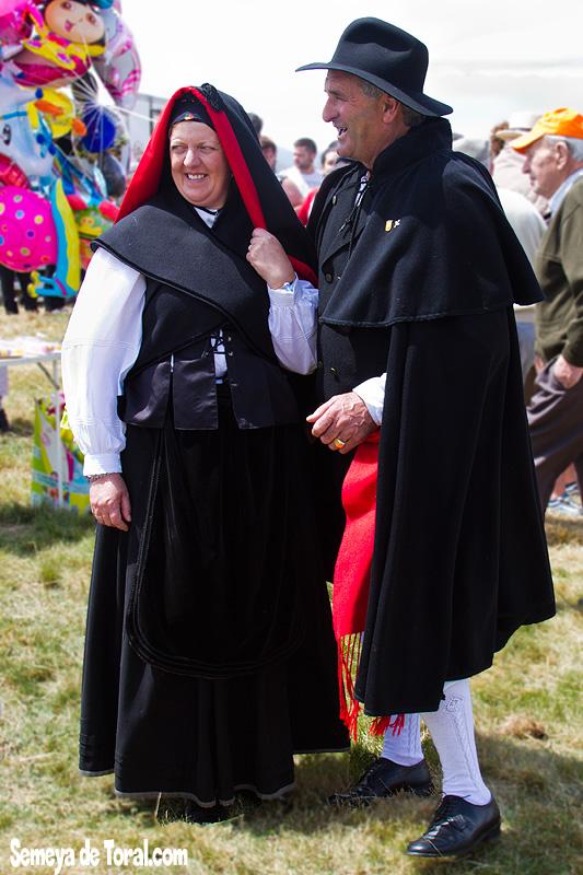 El matrimoniu vaqueiru - Vaqueirada - Semeya  de Toral