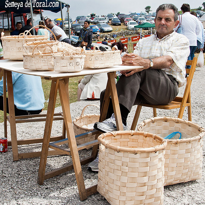 El cesteru - Vaqueirada - Semeya  de Toral