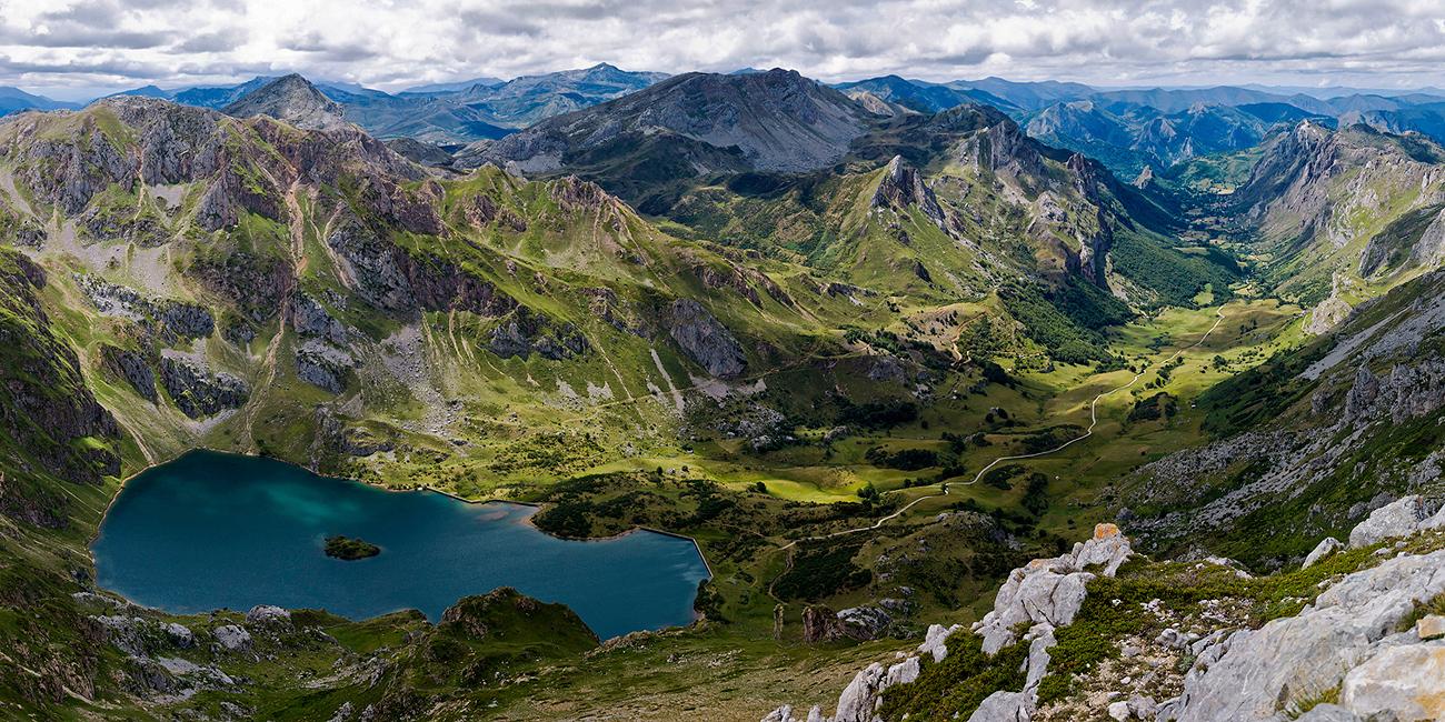 Lago del Valle y Valle del Lago. - MONTAÑA - Semeya  de Toral