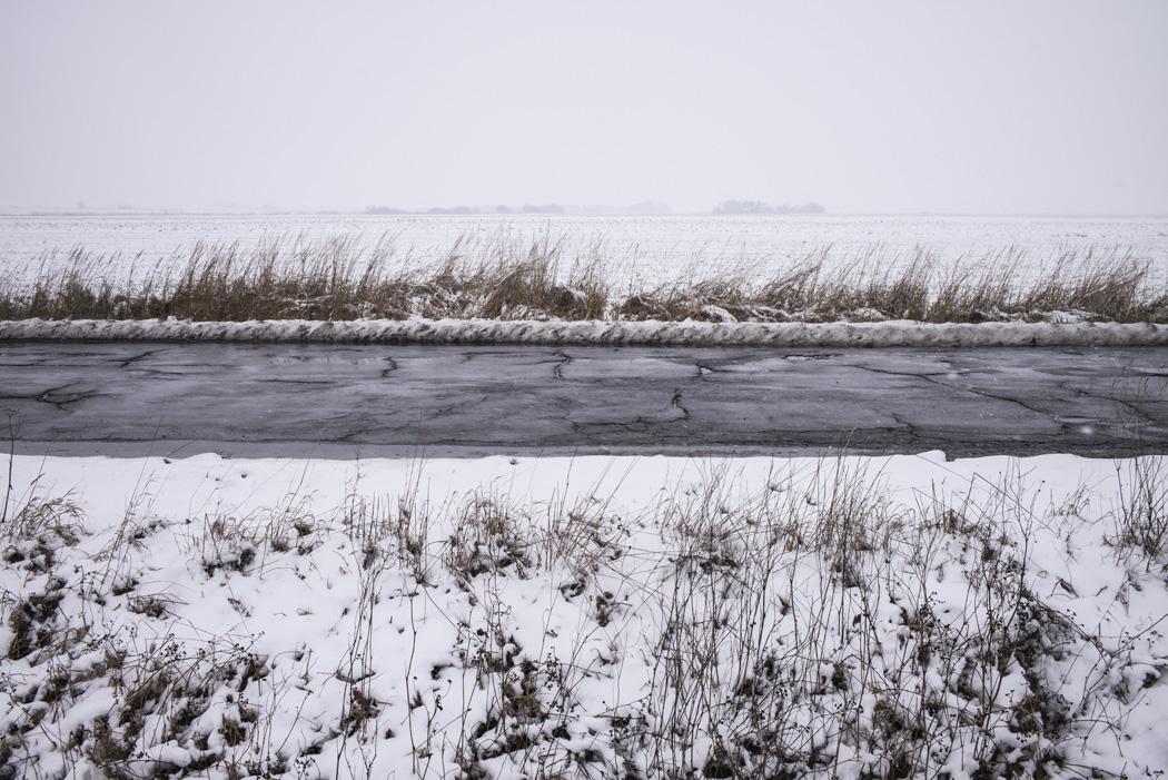 estudio 6710. Baja Silesia. 2016 - SNOW color - senén merino, photograph