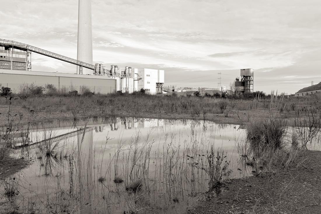 estudio 3494. Aboño - INDUSTRIAL LANDSCAPE 2013 - senenmerino. fotografias de autor sobre La industria . asturias . españa.