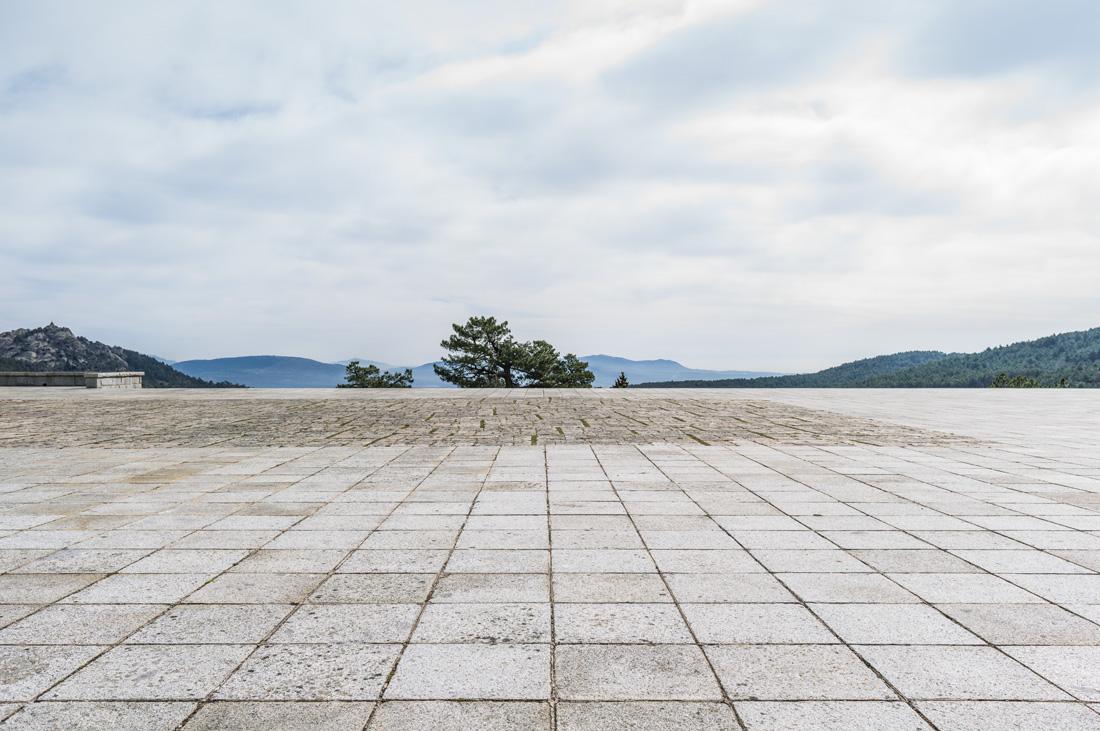 estudio 2623. Valle de los Caidos. 2014 - paisaje construido.-landscape built- - senén merino, photograph