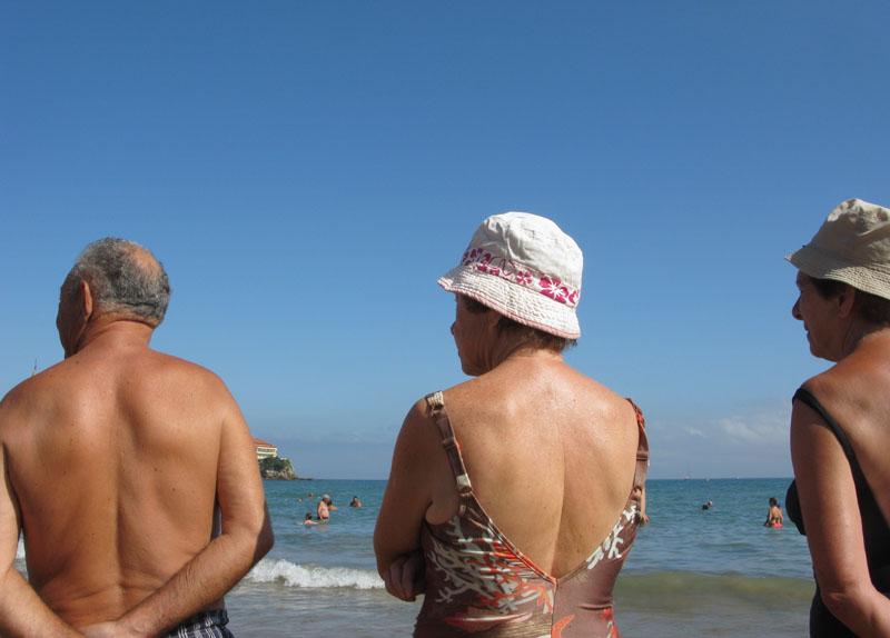 Tres - RIO PILES A SAN PEDRO. 2009 - senenmerino.Fotografías Playa de Gijón.