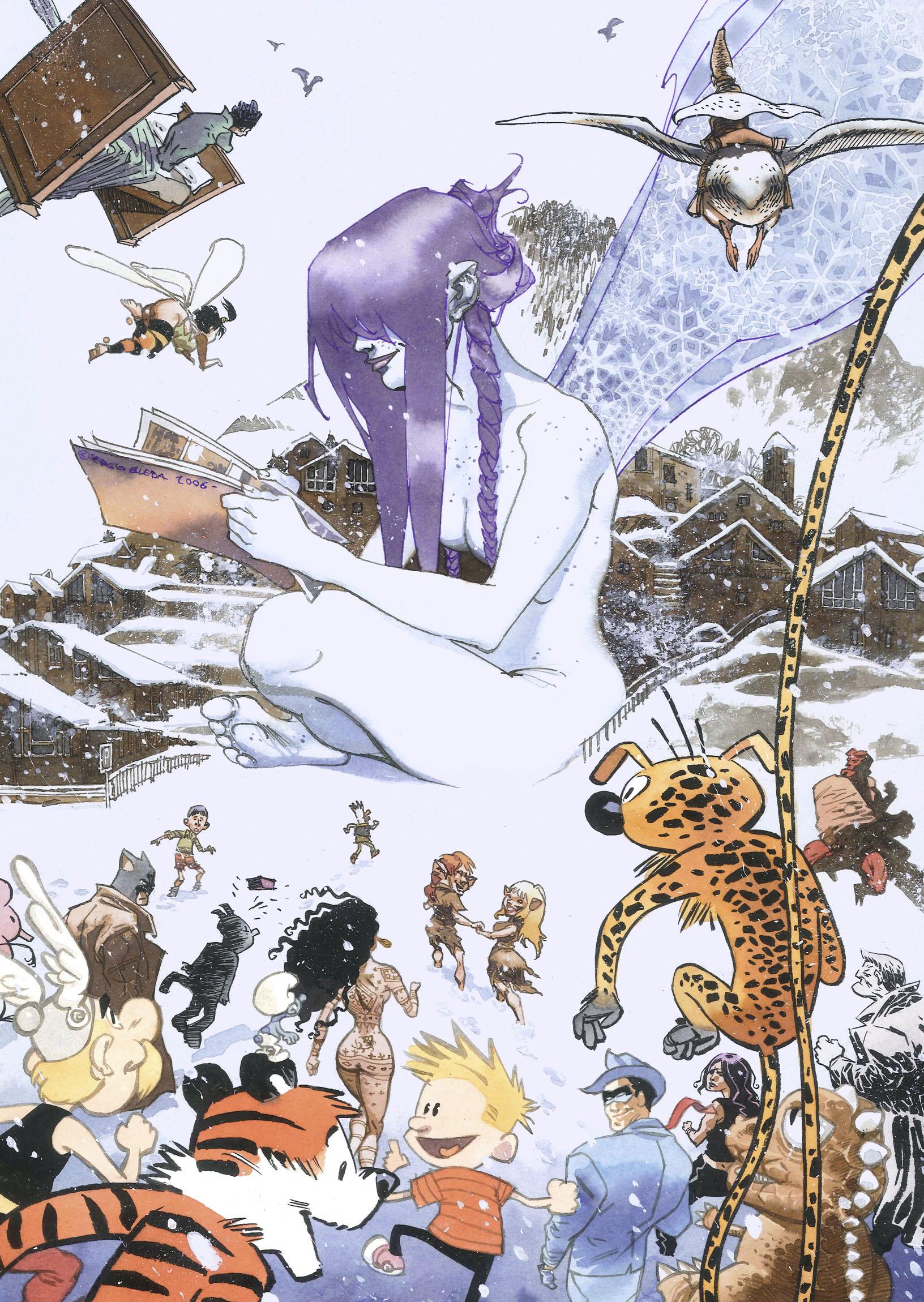 Ilustración - Sergio Bleda, Historietísta