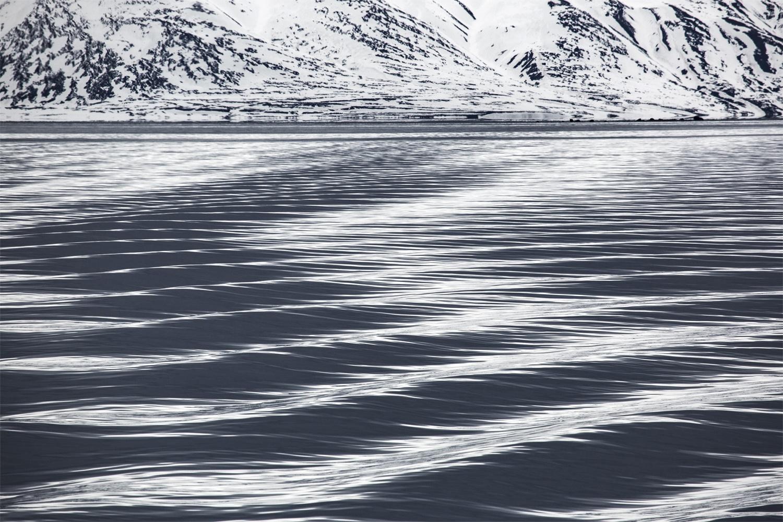 Blanco Negro Azul -  Blanco Negro Azul imágenes sobre el Ártico