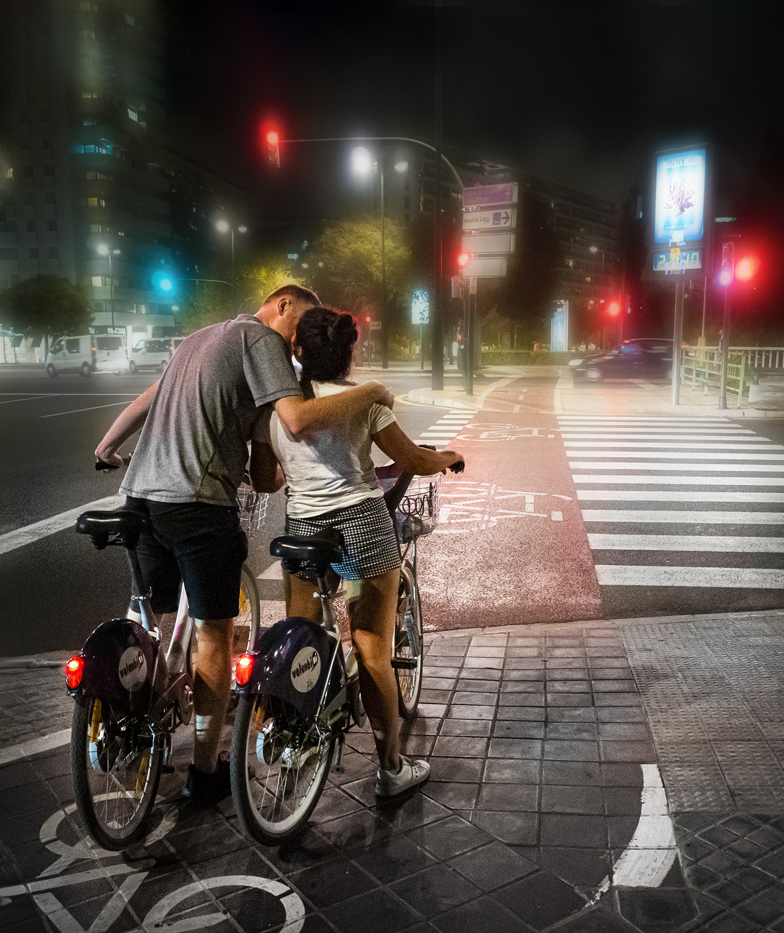 Valencia 2019 (E) - Street-colors - Urbano Suárez,  FineArt Photography