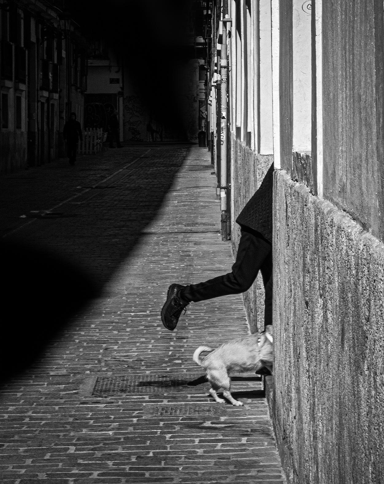 Valencia 2019 (E) - Street-b&w - Urbano Suárez,  FineArt Photography