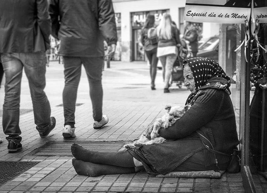 Valencia 2017 (E) - Street-b&w - Urbano Suárez,  FineArt Photography