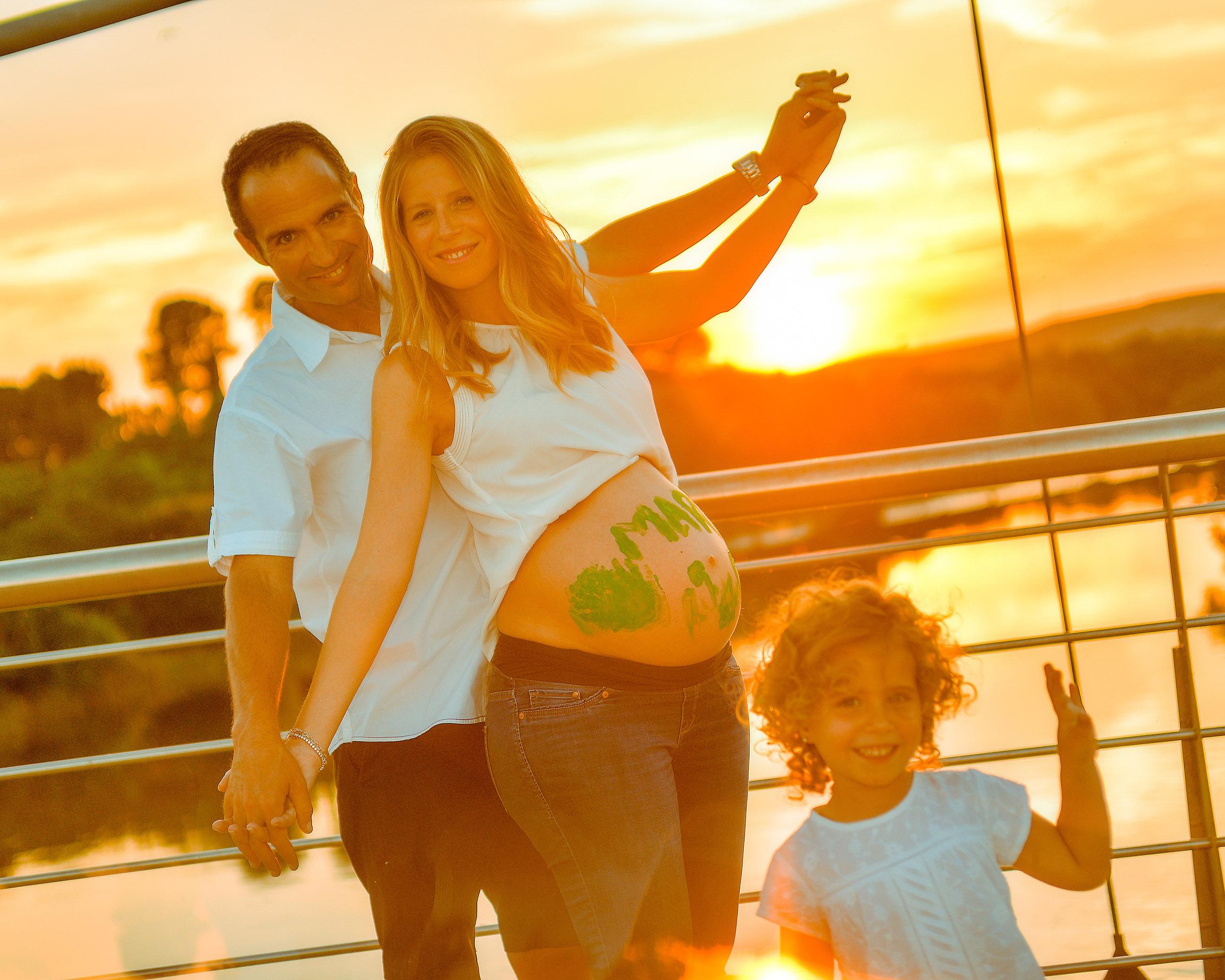 Embarazo - Estudio Fotográfico Santabarbara, Toledo