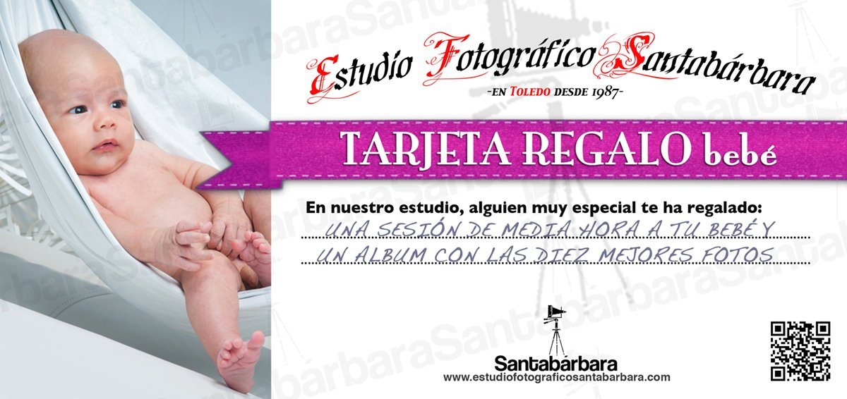 bebé - Estudio Fotográfico Santabárbara, sesiones de estudio y reportajes fotográficos